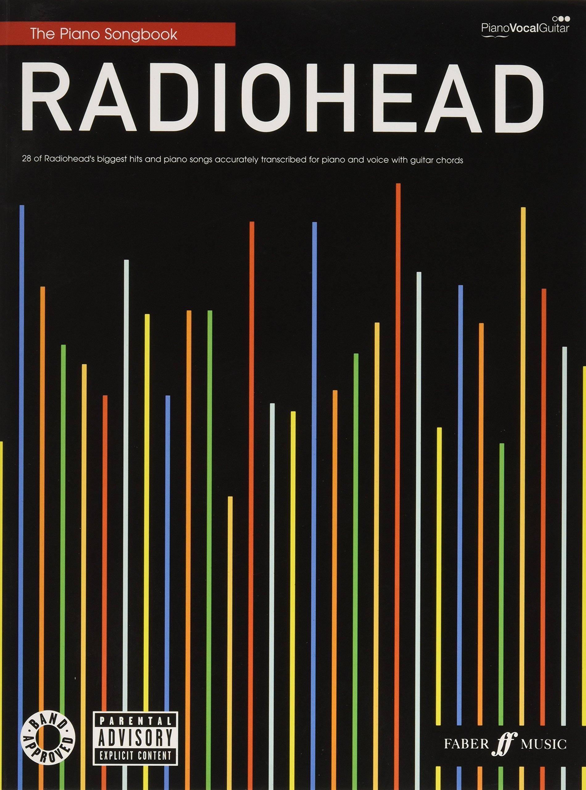 Radiohead Piano Songbook Piano Vocal Guitar Radiohead