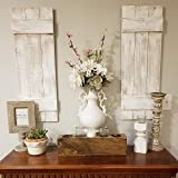 Rustic Chic Indoor Shutters