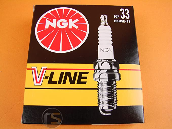 4x Ngk Spark Plug V Line 33 Bkr5e 11 Auto