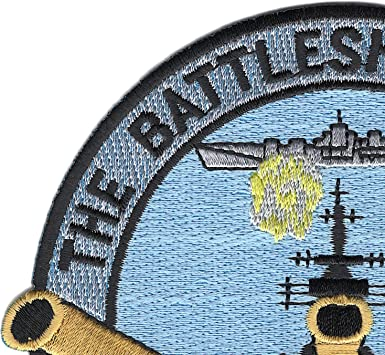 US NAVY BB-62 USS New Jersey Largest Capital Warship With Heaviest Armor Patch