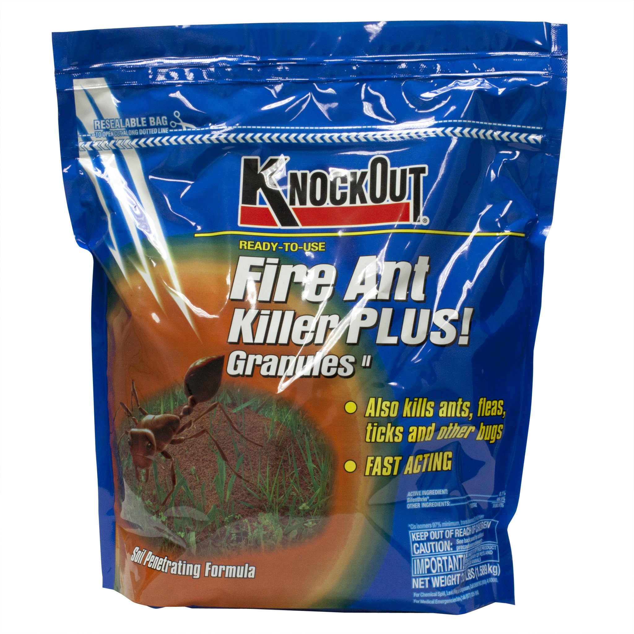 Knock Out 342048.0 Fire Ant Killer, 3.5 lb by Knock Out