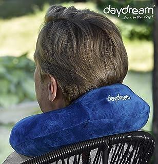 Daydream: Basic Plus (con poggiatesta) Cuscino da Viaggio in Memory Foam, Grigio (n 5361) N-5361