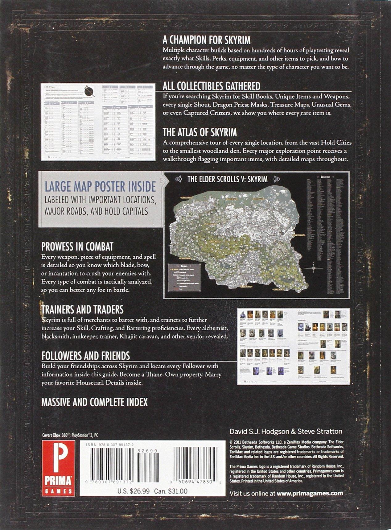 Buy Elder Scrolls V: Skyrim: Prima Official Game Guide Book
