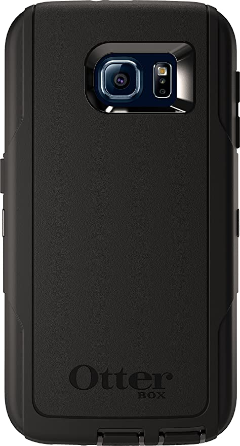 quality design 5823a 907db OtterBox DEFENDER SERIES for Samsung Galaxy S6 - Frustration Free Packaging  - Black