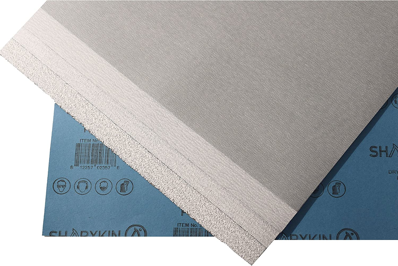 "Wet /& Dry Sandpaper Sheets 9"" x 11"" Ideal for Car Repair 50 Pack Grit P400"
