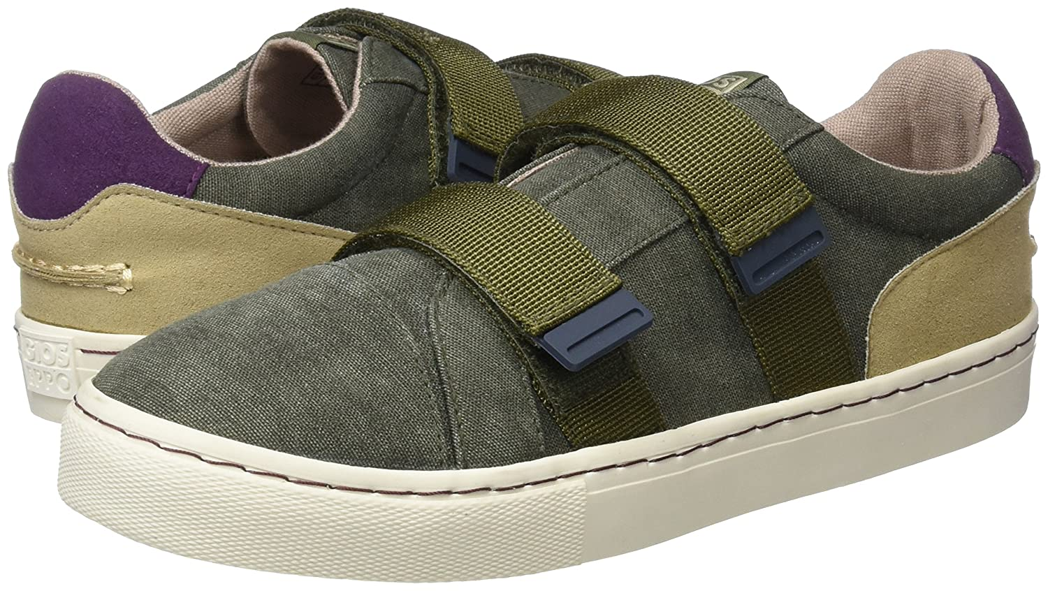 Brown Gioseppo Boys 43998 Slip on Trainers