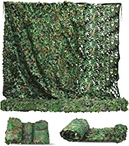 Sposuit Camo Net Camouflage Netting 10 x 10ft, 10 x 20ft - Oxford Fabric Camouflage Nets Military Surplus - Hunting Blind for Deer Stand, Party Supplies Decorations