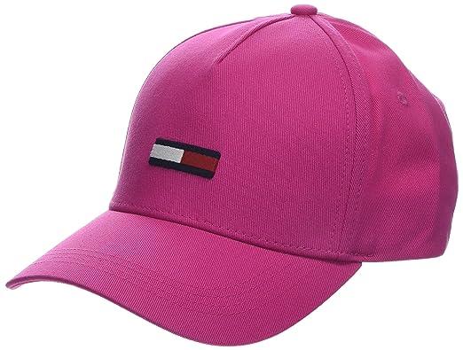 3b0693f3b Tommy Hilfiger Tju Flag Baseball Cap, (Fuchsia Purple 902), One (Size: OS):  Amazon.co.uk: Clothing