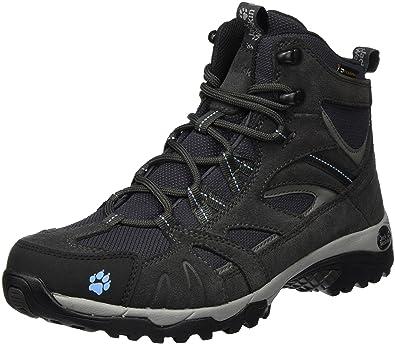 Jack Wolfskin Vojo Hike Texapore 4011371 Damen Wanderschuhe, Blau (Light Sky 1132), 41