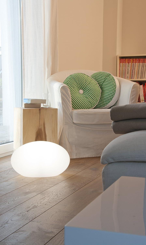 8 seasons design - Moderne Bodenlampe Shining Eye (E27, 42 cm, UV ...