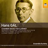 Hans Gal: Chamber Music for Clarinet