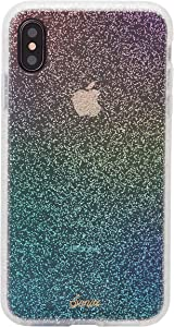 Sonix Rainbow Glitter Case for iPhone X/Xs [Drop Test Certified] Protective Clear Case for Apple iPhone X, iPhone Xs
