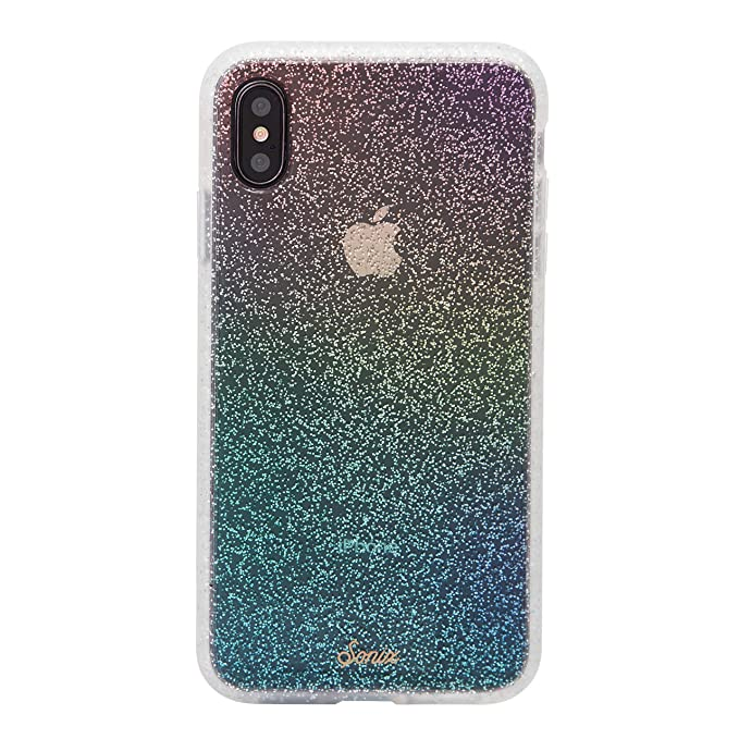 more photos 16c4b 692a9 Sonix Rainbow Glitter [Military Drop Test Certified] Protective Clear Case  Series for Apple iPhone Xs Max