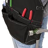 Dickies Work Gear 57081 Black 16-Pocket Bib Apron