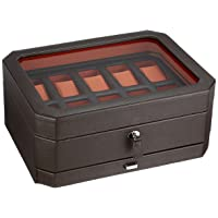 Windsor 10 Piece Watch Box with Drawer by Wolf
