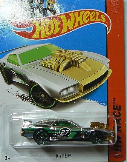 Hot Wheels 2013 Hw Race Super Chromes Rivited 147//250 Mattel