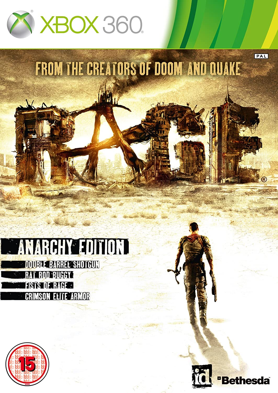 Rage: Anarchy Edition (Xbox 360): Amazon co uk: PC & Video Games