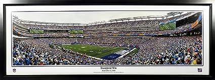 1470cc8c23b Amazon.com: NY Giants Inaugural Win at MetLife Stadium Panoramic ...