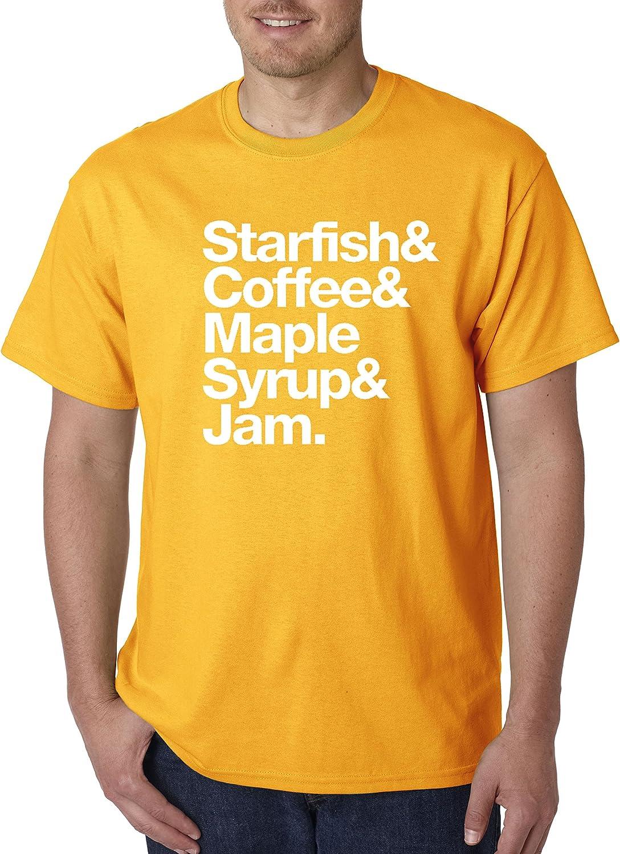 Nueva forma 457 – Unisex camiseta estrella café Jarabe de arce Jam: Amazon.es: Ropa y accesorios