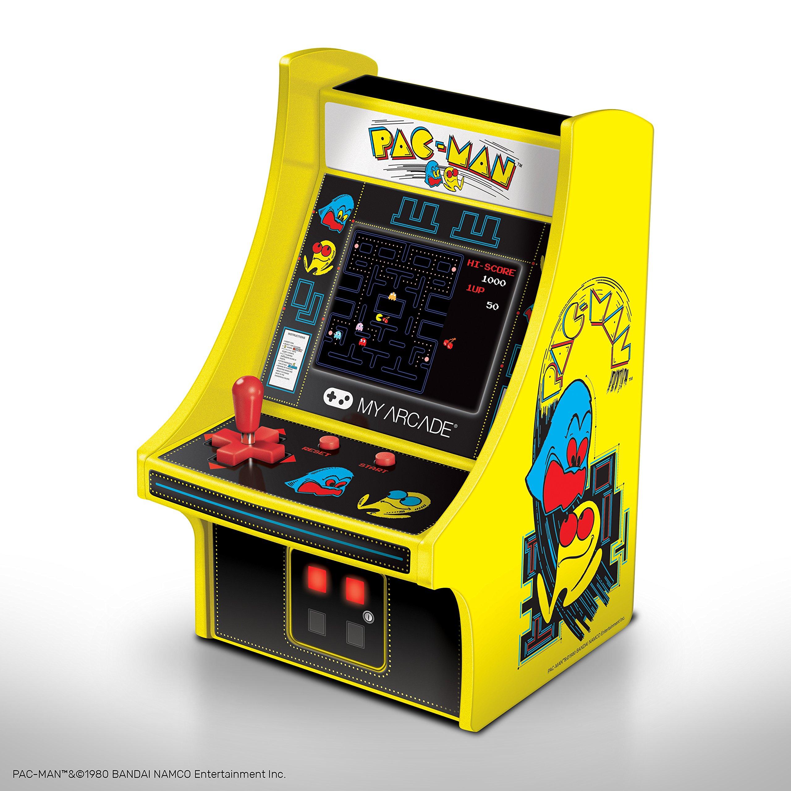 My Arcade PAC-MAN Micro Player 6'' Collectable Arcade