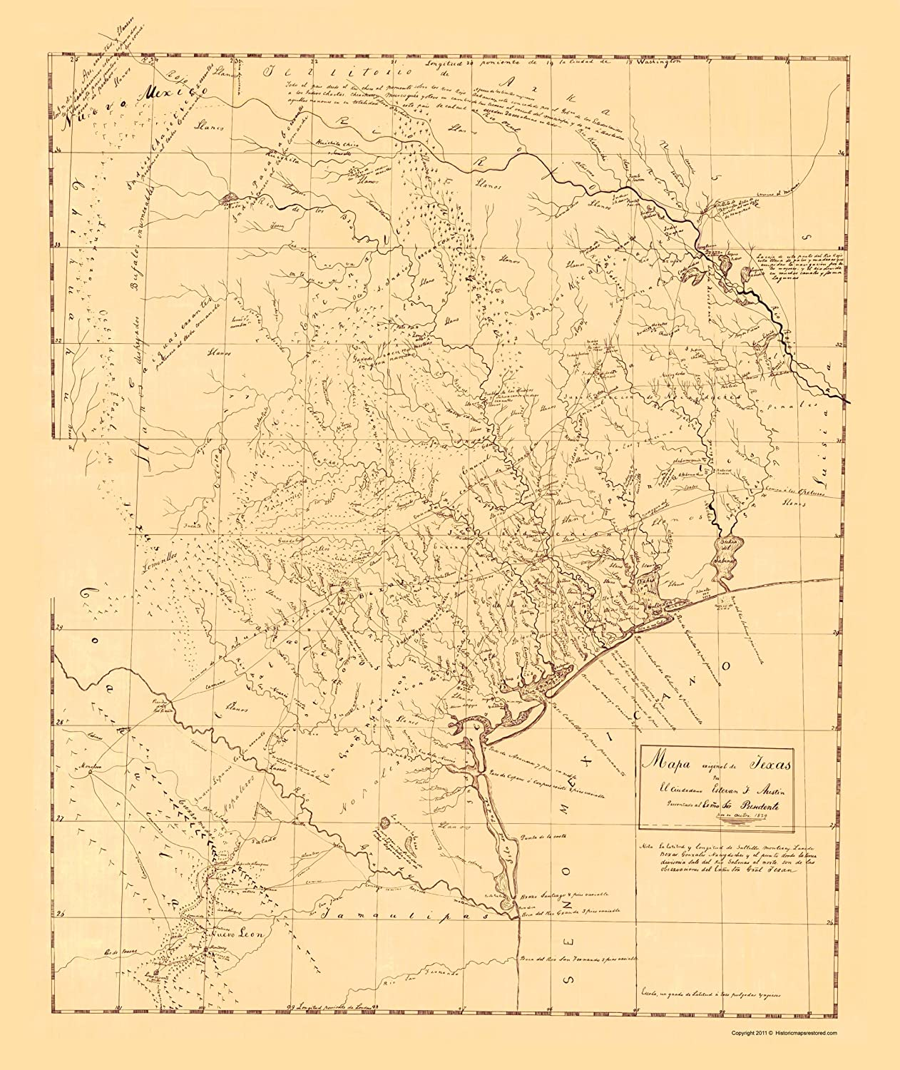 Amazon.com: Old State Map - Texas Original Map - Austin 1829 ... on old calgary maps, old orlando maps, old el paso county maps, old michigan maps, old oakland maps, old tallahassee maps, old florida maps, old minnesota maps, old bowling green maps, old tinley park maps, old pensacola maps, old green bay maps, old stockton maps, old raleigh maps, old tobin maps, old ohio maps, old texas maps, old honolulu maps, old annapolis maps, old chico maps,