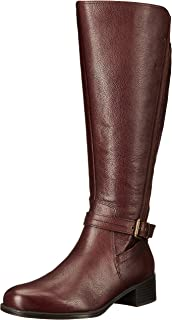 Amazon.com | Naturalizer Women's Tanita Wide-Calf Riding Boot ...