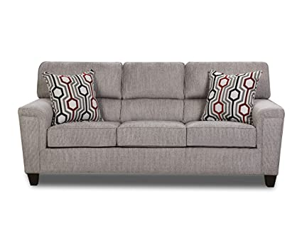 Awe Inspiring Amazon Com Lane Home Furnishings Sofa Grey Kitchen Dining Alphanode Cool Chair Designs And Ideas Alphanodeonline