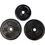 Ader Regular Black Weight Plates- (10lb, 5lb) pair of each