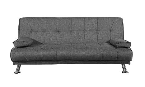 Terrific Birlea Logan Sofa Bed Fabric Grey Camellatalisay Diy Chair Ideas Camellatalisaycom