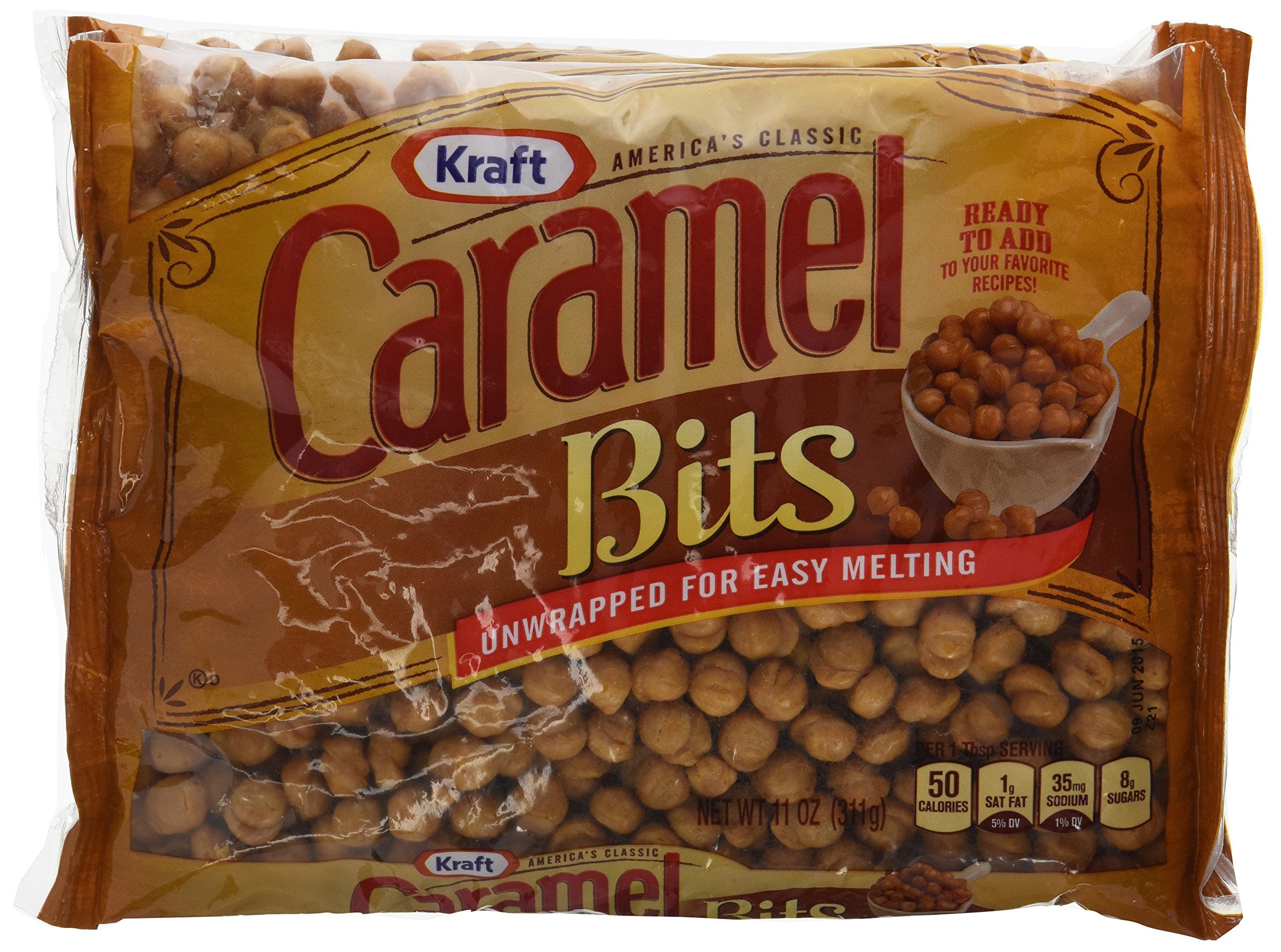 Kraft, Caramel Bits, 11oz Bag (Pack of 3)