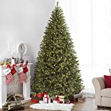 Best Choice Products 7.5FT Pre-Lit Fir Hinged Artificial Christmas Tree w/ Dual Function 700 UL Certified Lights, 9 Sequences, Stand