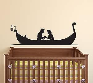 Amazon.com: Tangled Boat Rapunzel and Flynn Rider Decor ...