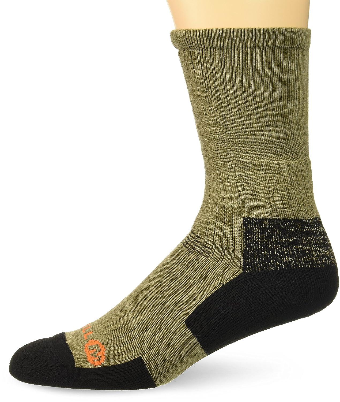 Merrell mens standard Tactical Crew Sock Black m/l MEMF17H014-01