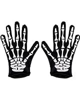 Amazon.com: Kangaroo's Halloween Accessories - Deluxe Skeleton ...