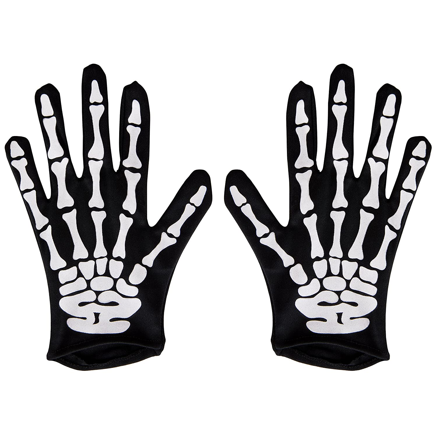 Kangaroo Halloween Accessories - Skeleton Gloves Kangaroo Manufacturing