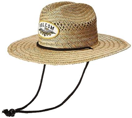 3de8823d4c4 Volcom Men s Hellican Straw Lifeguard Beach Hat Sun