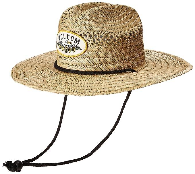 4bd2acb773a1a Volcom Men s Hellican Straw Lifeguard Beach Hat