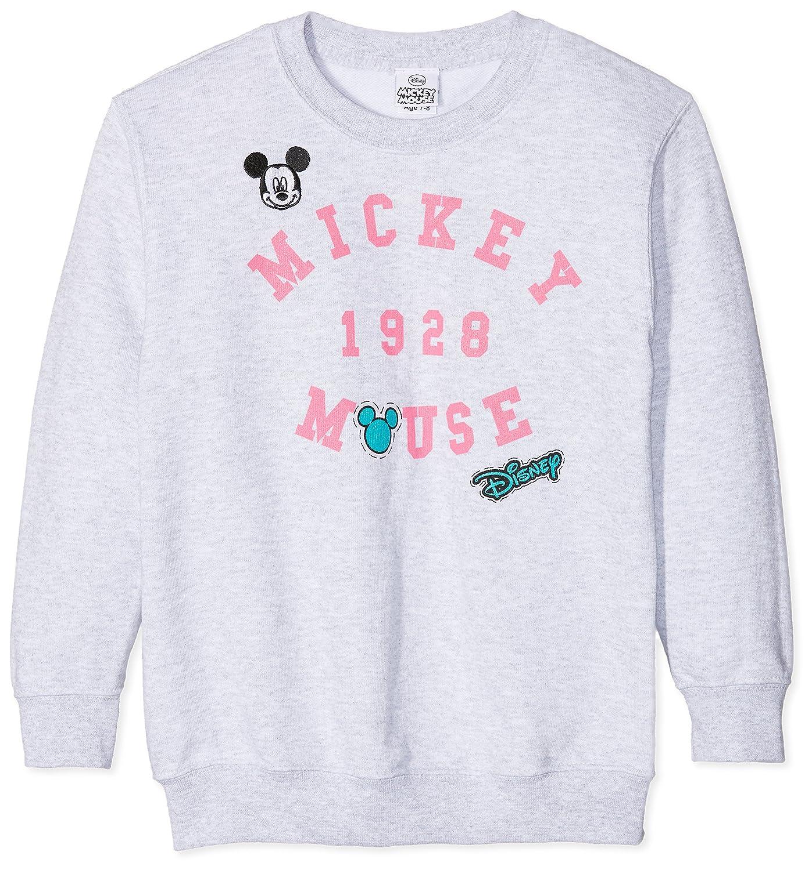 Disney Niñas Rbgcs271 Sudadera Patches Mickey Para IwrqvxIZA
