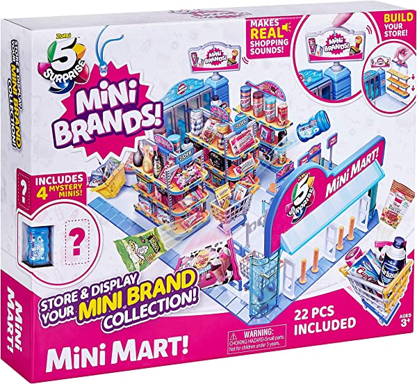 5 Surprise Mini Mart collectible surprise toy for kids in package