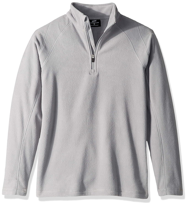 Clementine Mens Ultc-8180-cool /& Dry 1//4-zip Micro-Fleece Pullover Sweater