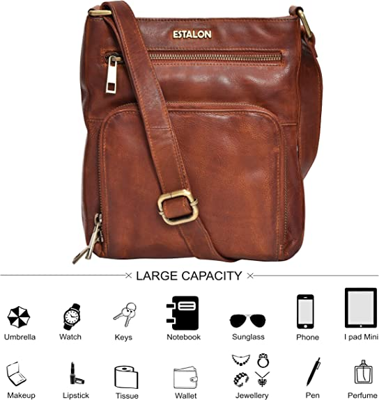 Crossbody Bags for Women - Real Leather
