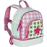 Lässig Mini Backpack Kinderrucksack Kindergartentasche, Brotdosenfach unten, Starlight magenta
