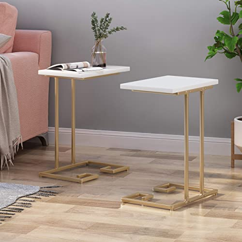 Christopher Knight Home Ariade Modern Glam C Side Table