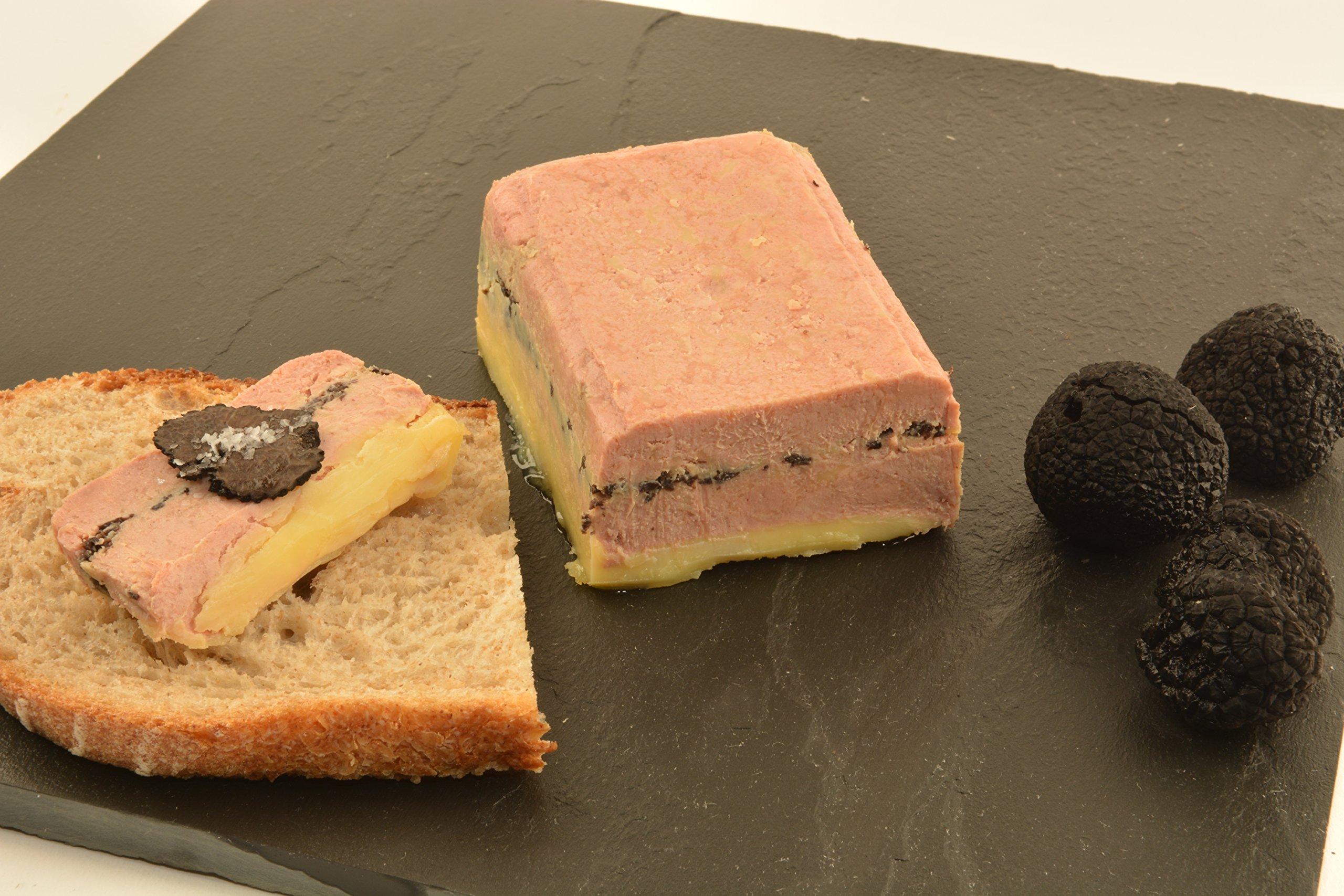 Foie Gras Terrine with Black Truffles, 1.3lbs by Angel's Salumi (Image #2)