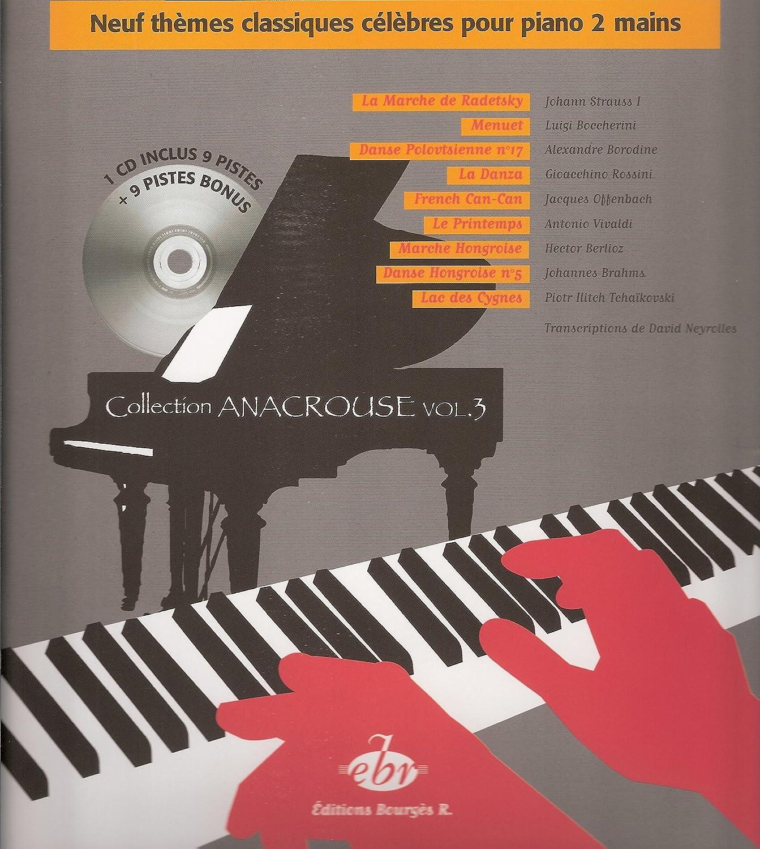 Neuf Thèmes Classiques célèbres pour Piano à 2 mains + CD ...