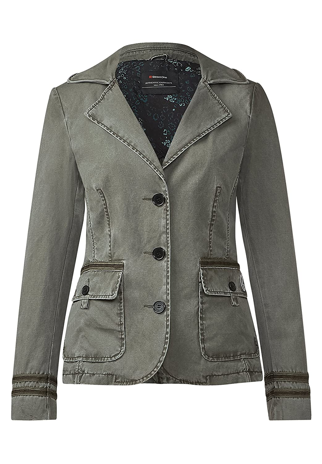 Street One Blazer im Washed-Look Franka Damen