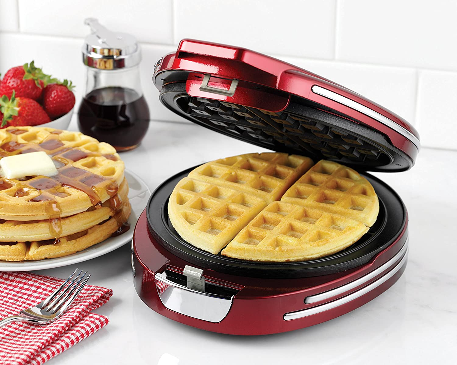 breville no mess waffle maker manual