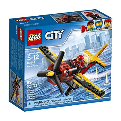 Amazon.com: LEGO City Great Vehicles Race Plane 60144 Building Kit ...