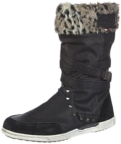 Kangaroos 500 5009 Femme Boot Bottines 37 K black Eu Noir rxROqwr40