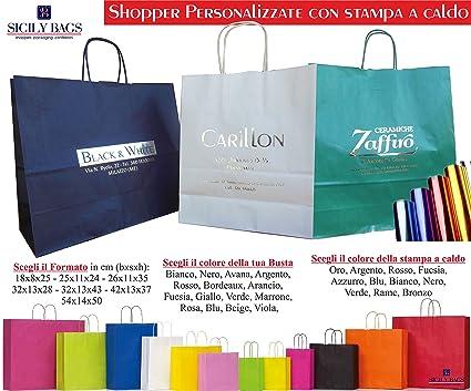 Shopper Personalizzate con stampa logo | Stampasi